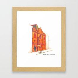 NYC Pride: Webster Hall Framed Art Print