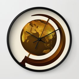 Workers of the Globe Wall Clock