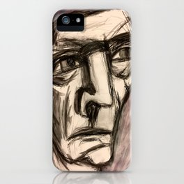 The Incandescent Man. iPhone Case