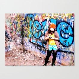 Hazy memories Canvas Print