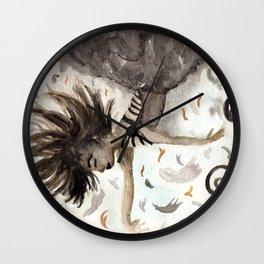 Falling Dreams Wall Clock