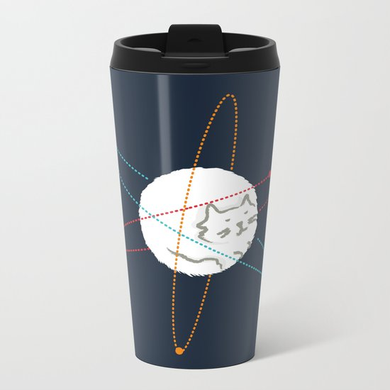 Cat-ion Metal Travel Mug