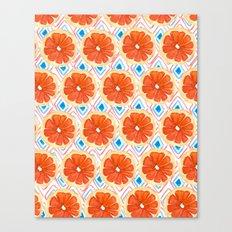 Citrus/Geo Canvas Print
