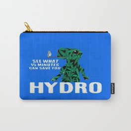 Hydro Gecko what 15 minutes can save Carry-All Pouch