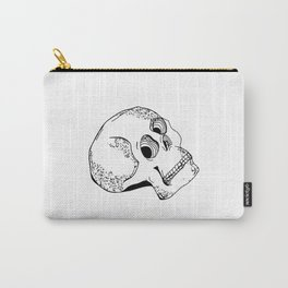 Skull Head Style Carry-All Pouch