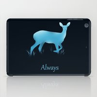 snape iPad Cases featuring Always by Duke Dastardly