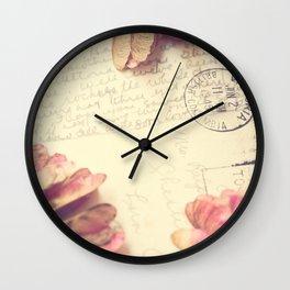 Victoria 1946 - Love Letter Wall Clock