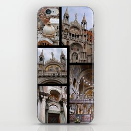 The Cathedral of St. Mark in Venice iPhone Skin