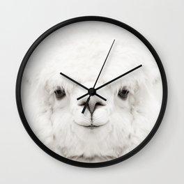 SMILING ALPACA Wall Clock