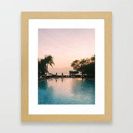 Mornings on the Gulf of Thailand Framed Art Print