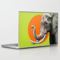 eric fan Laptop & iPad Skins featuring Wild 6 by Eric Fan & Garima Dhawan by Garima Dhawan