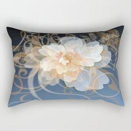 Beautiful Abstract Floral Rectangular Pillow