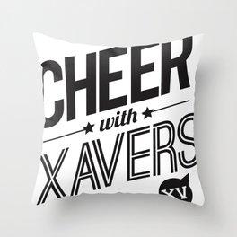 XV Cheerleading Throw Pillow