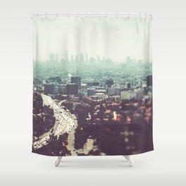 Los Angeles, beach,ocean, surf, downtown, Cali, SoCal, west coast Shower Curtain