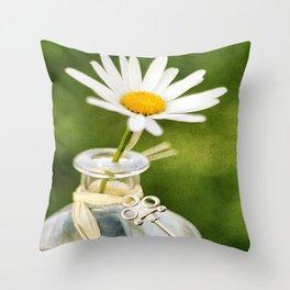 Love Me Love Me Not Throw Pillow