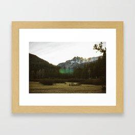 Buttes Framed Art Print