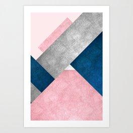 Modern Mountain No2-P3 Art Print