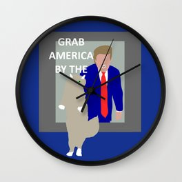 Grab America by the... Wall Clock