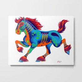 Oaxacan Horse Metal Print