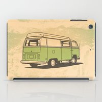 vw bus iPad Cases featuring VW Bus by QRS Patterns