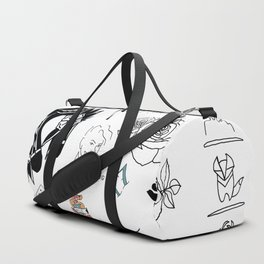Halsey's Tattoos Duffle Bag