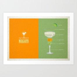 The Perfect Margarita Art Print