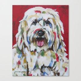 English Sheepdog Canvas Print