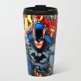 a collection of heroes Travel Mug