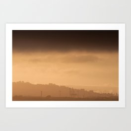 Hazy Days | Berkley, California Art Print