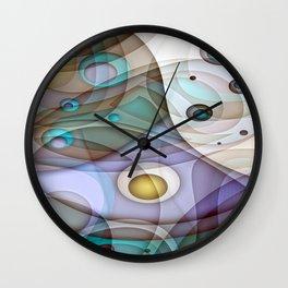 Digital Abstract Wall Clock