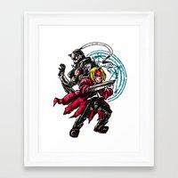 fullmetal alchemist Framed Art Prints featuring FullMetal Alchemist by Agui-chan