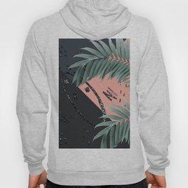 Night Palms Cali Vibes Abstract Glitter Glam #3 #tropical #decor #art #society6 Hoody
