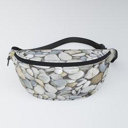 Grey pebbles Fanny Pack