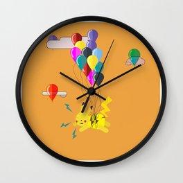 Electric Balloons  Wall Clock