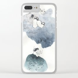 Stop Plaguing My Dreams Clear iPhone Case