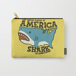 America…   it kinda looks like a shark or something Carry-All Pouch
