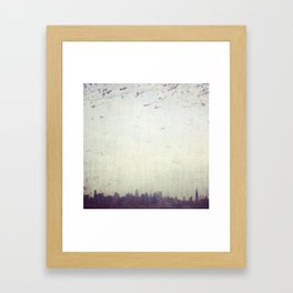 Dirty NYC Framed Art Print
