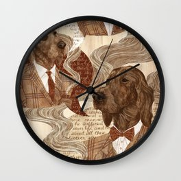 Repitition Wall Clock