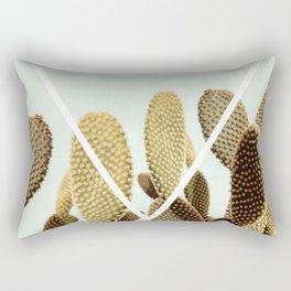 Cactus geometry Rectangular Pillow