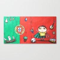 portugal Canvas Prints featuring Portugal by Ana  La Bella Carapinheiro