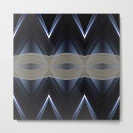 Mimas Arches Metal Print