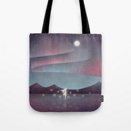 Descendant Of The Northern Lights Tote Bag