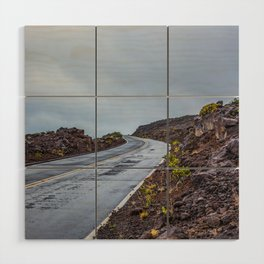 The Endless Road Wood Wall Art