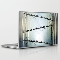 justin timberlake Laptop & iPad Skins featuring Barricade by Viviana Gonzalez