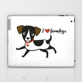 I love farmdogs Laptop & iPad Skin