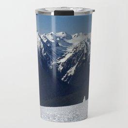 Snowman of the Olympics Travel Mug