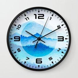 Winter scenery #17 Wall Clock