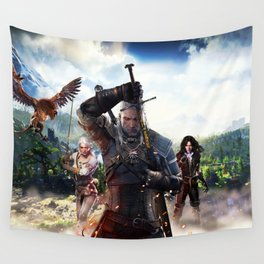 Sexy girl in The Witcher 3 Wall Tapestry