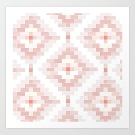 P neutral venetian bricks Art Print
