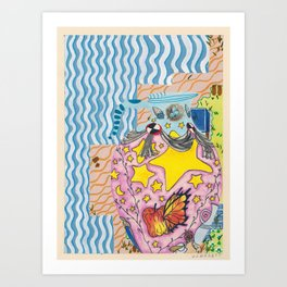 untitled (urns 4) Art Print